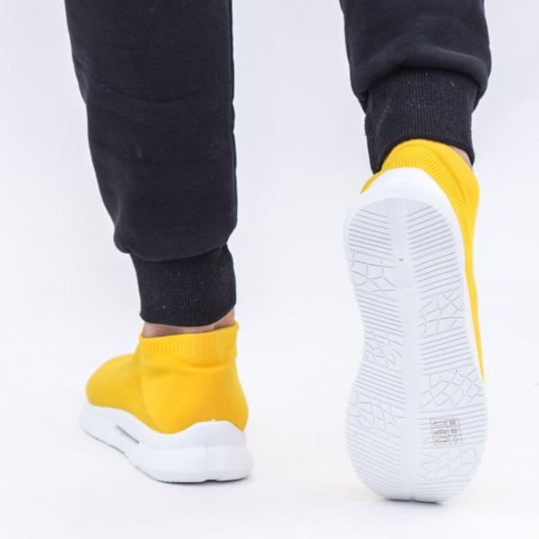 Pantofi Sport Barbati 6681 Yellow DCF68