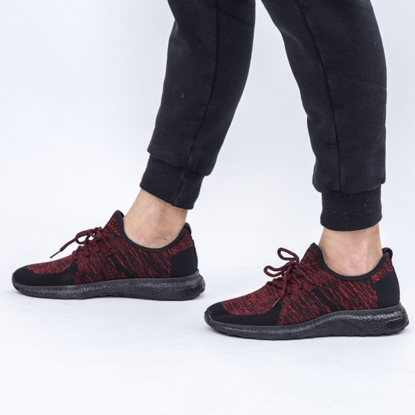 Pantofi Sport Barbati D7 Red-Black DCF68