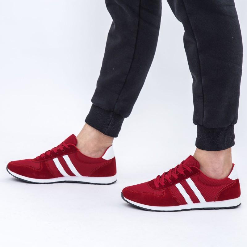 Pantofi Sport Barbati 6660 Bright Red DCF68