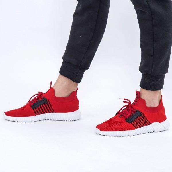 Pantofi Sport Barbati B17 Red DCF68
