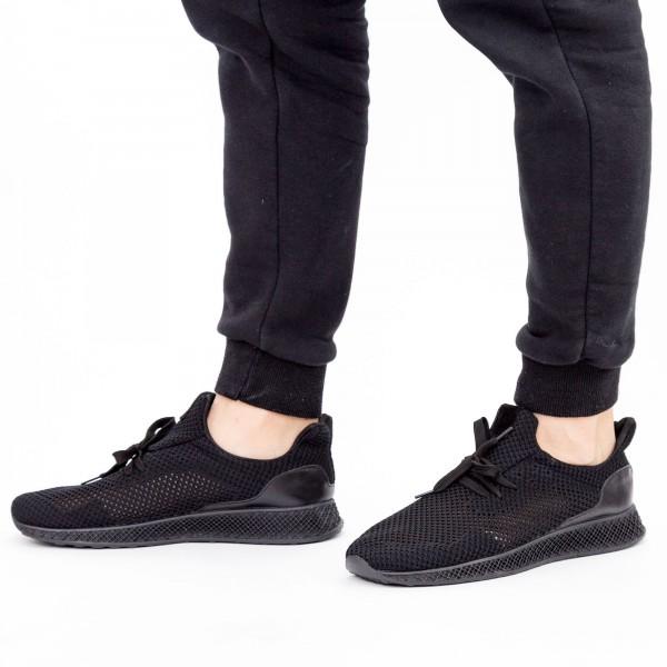 Pantofi Sport Barbati 19-1 Black DCF68