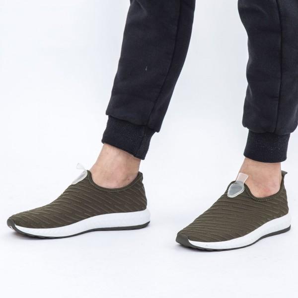 Pantofi Sport Barbati D716 Green Se7en