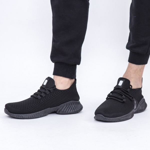 Pantofi Sport Barbati D753 Black Se7en