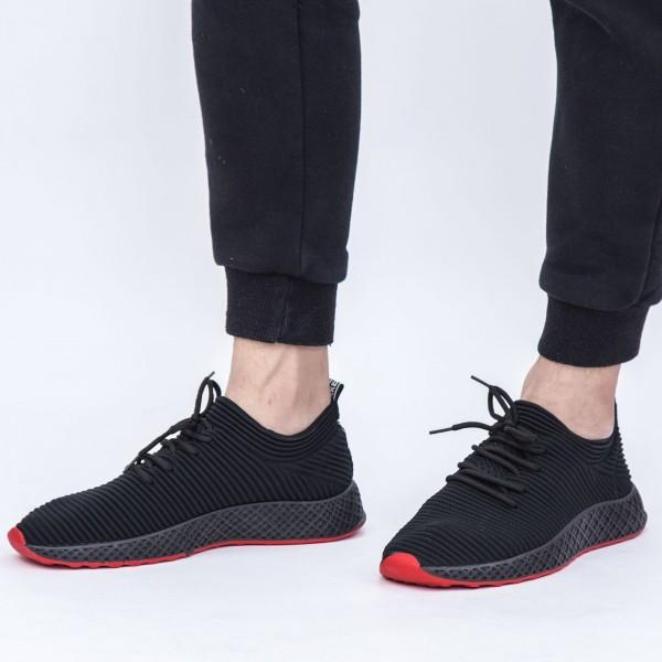 Pantofi Sport Barbati X601 Black Se7en