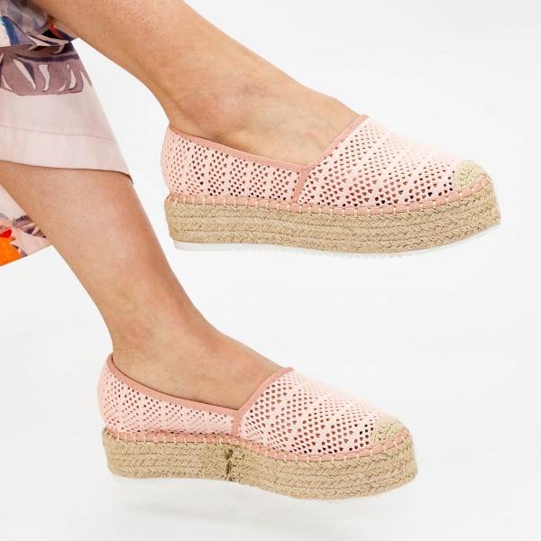 Pantofi Casual Dama HJ5 Beige Mei