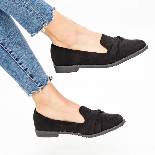 Pantofi Casual Dama YEH1 Black Mei