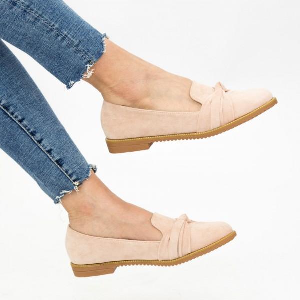 Pantofi Casual Dama YEH1 Beige Mei