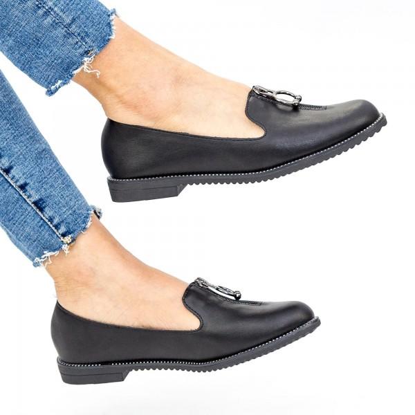Pantofi Casual Dama YEH9 Black Mei