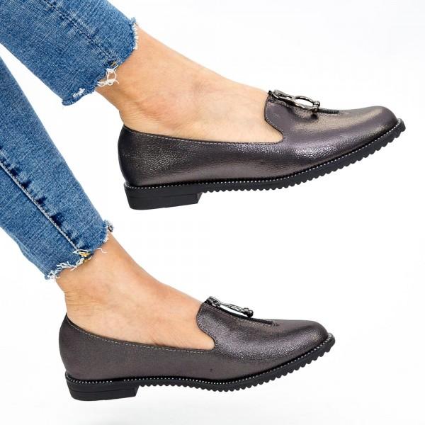 Pantofi Casual Dama YEH9 Guncolor Mei