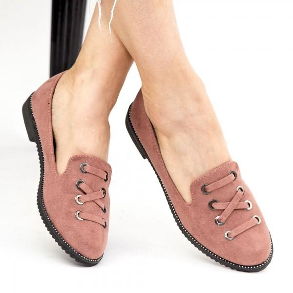 Pantofi Casual Dama WH12 Pink Mei