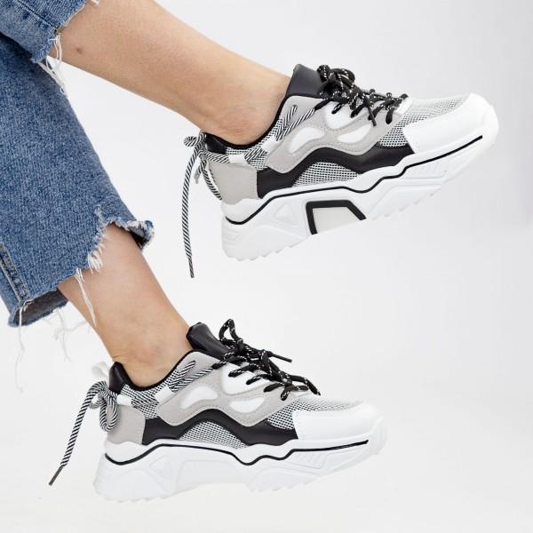 Pantofi Sport Dama YKQ207 Black Mei