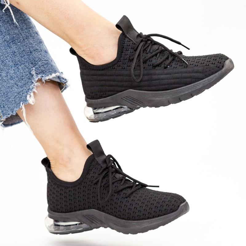 Pantofi Sport Dama LGFL1A All-Black Mei