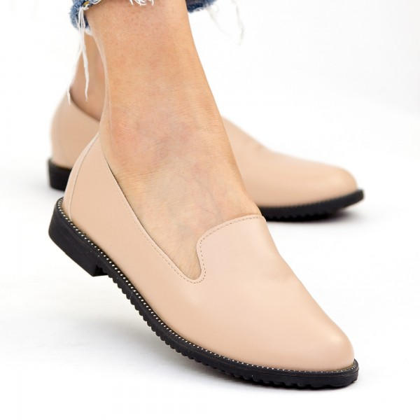 Pantofi Casual Dama YEH3 Beige Mei