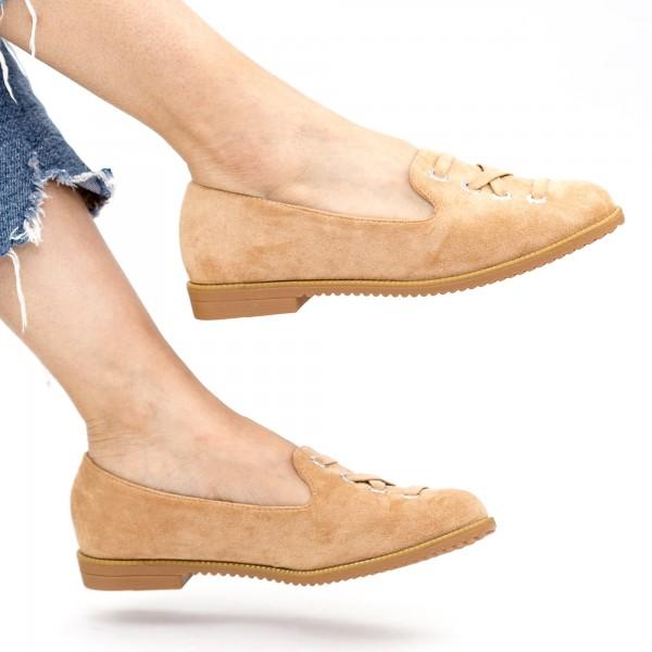 Pantofi Casual Dama WH12 Apricot Mei