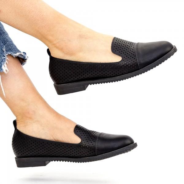 Pantofi Casual Dama YEH2 Black Mei