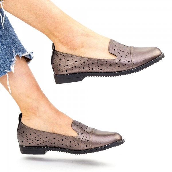 Pantofi Casual Dama YEH15 Guncolor Mei