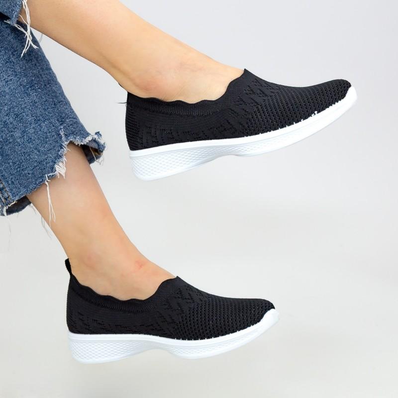 Pantofi Sport Dama X2909 Black Se7en