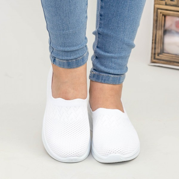Pantofi Sport Dama X2909 White Se7en