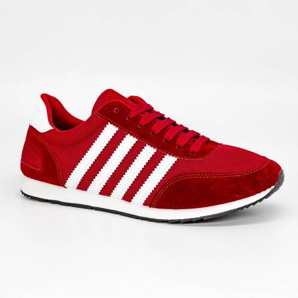 Pantofi Sport Barbati 6653 Bright Red DCF68