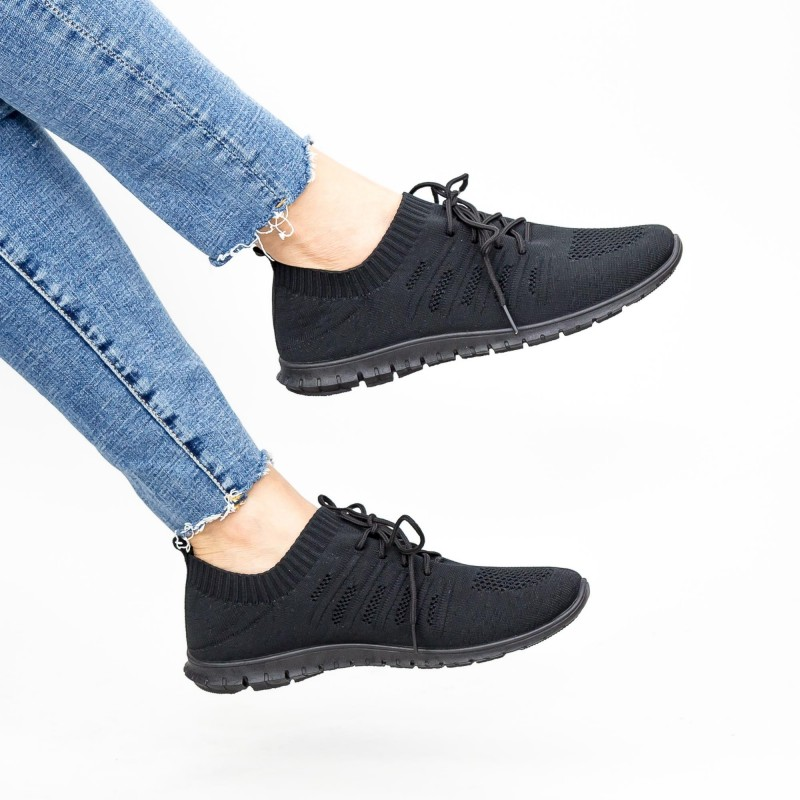 Pantofi Sport Dama YKQ25 Black Mei