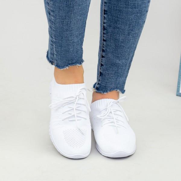 Pantofi Sport Dama YKQ25 White Mei