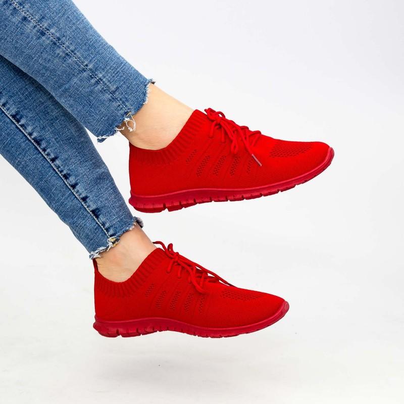 Pantofi Sport Dama YKQ25 Red Mei