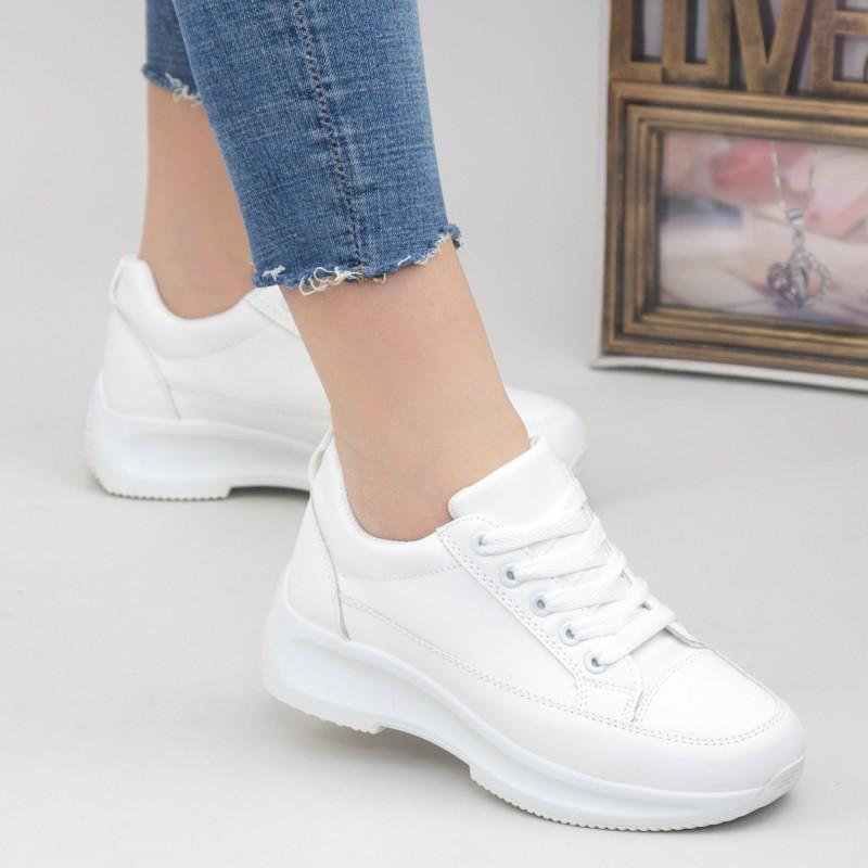 Pantofi Sport Dama XC8 All-White Mei
