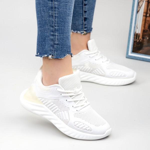 Pantofi Sport Dama NX85 White Mei