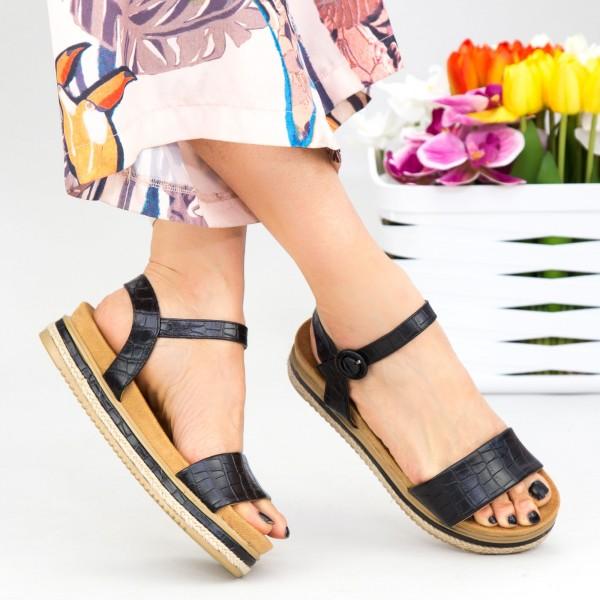 Sandale Dama WT006 Black Mei