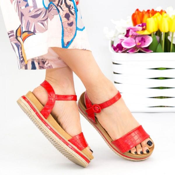 Sandale Dama WT006 Red Mei