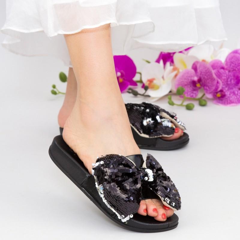 Papuci Dama WS120 Black Mei