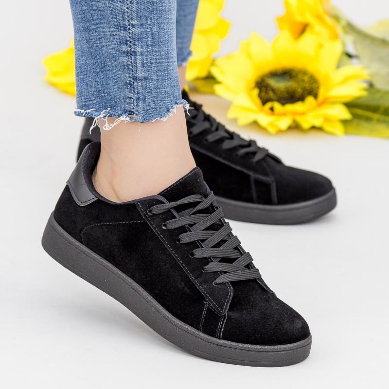 Pantofi Sport Dama YKQ117 Black Mei