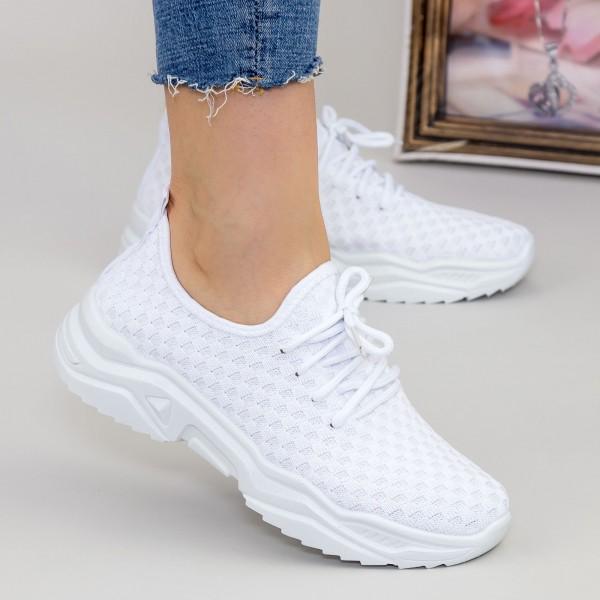 Pantofi Sport Dama TF2 White Mei
