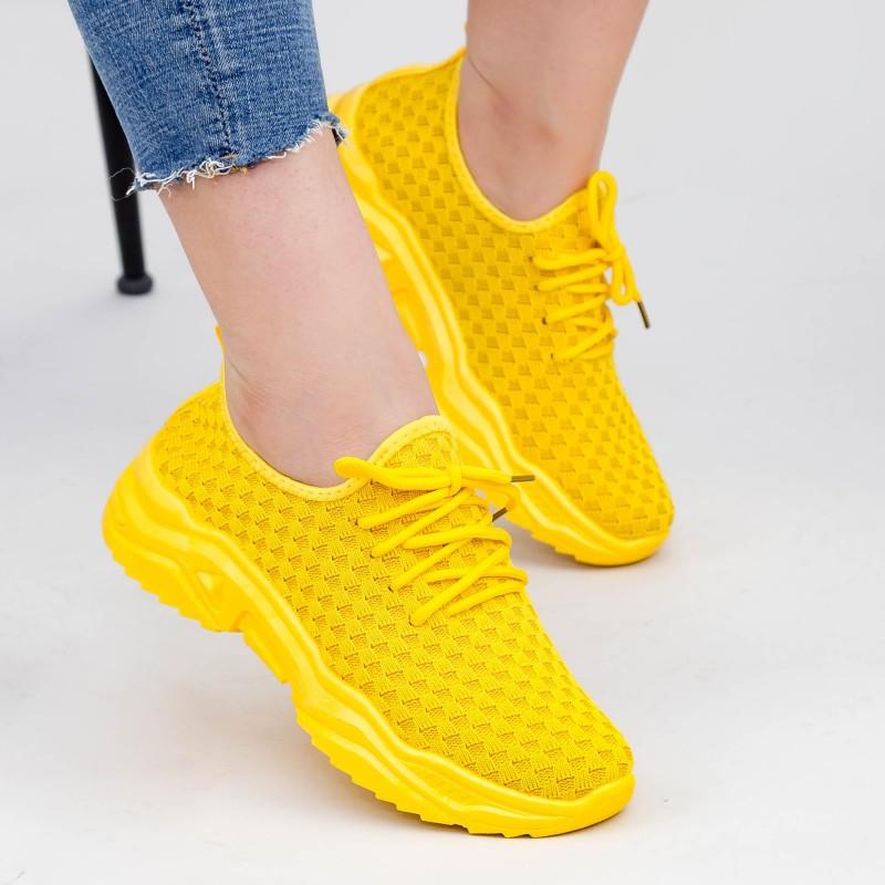 Pantofi Sport Dama TF2 Yellow Mei