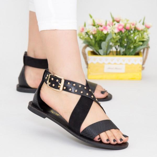 Sandale Dama FS11 Black Mei