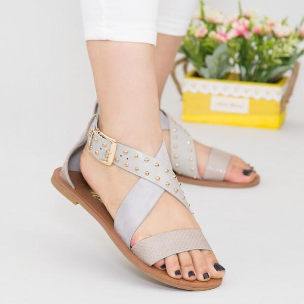 Sandale Dama FS11 Grey Mei