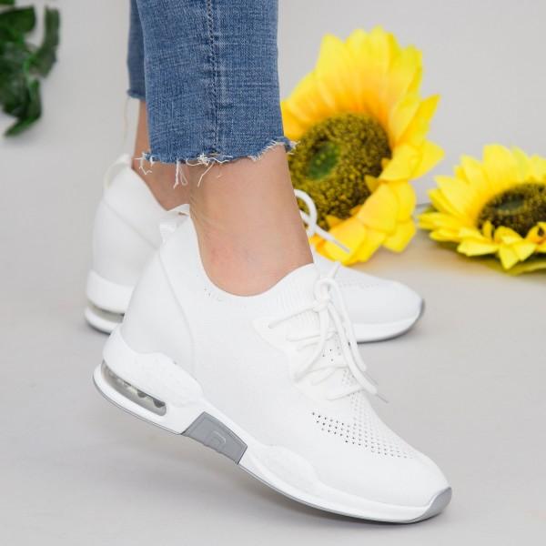 Pantofi Sport Dama SZ179 White Mei