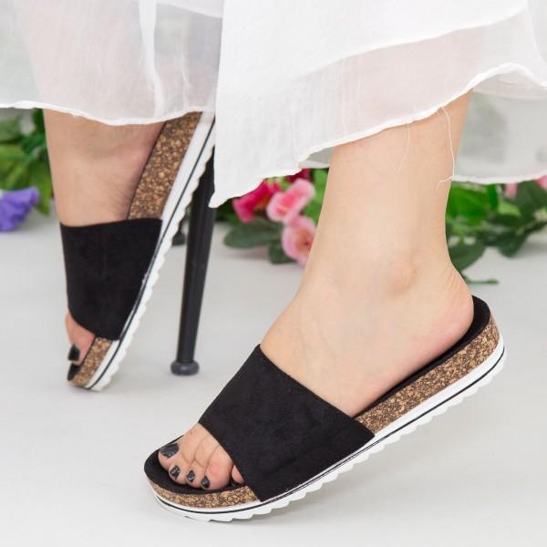 Papuci Dama WS128 Black Mei