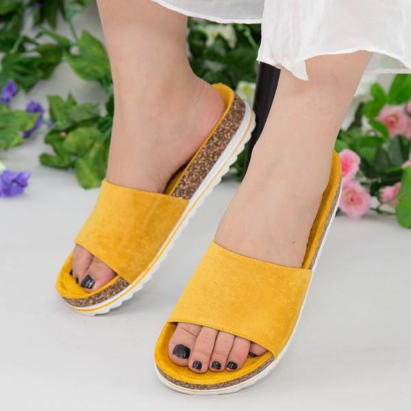 Papuci Dama WS128 Yellow Mei