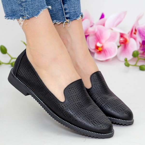 Pantofi Casual YEH11 Black Mei