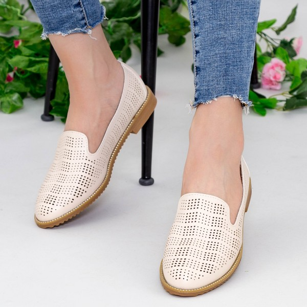 Pantofi Casual YEH11 Beige Mei