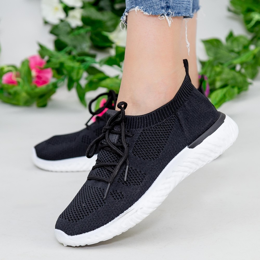 Pantofi Sport YKQ16 Black Mei