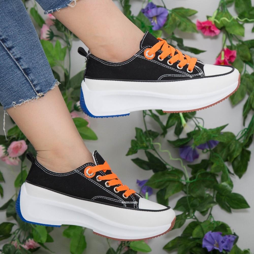 Pantofi Sport Dama cu Platforma XC2 Black Mei
