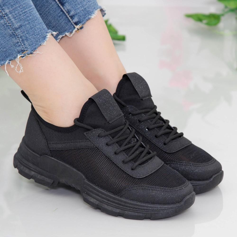 Pantofi Sport Dama YKQ217 Black Mei