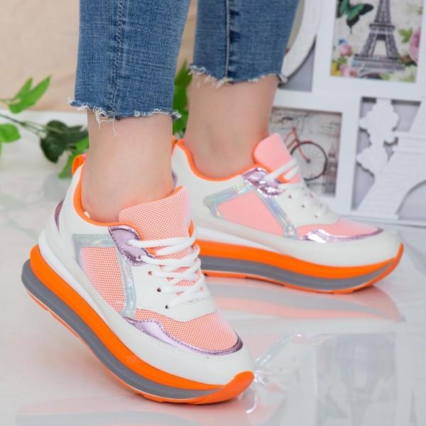 Pantofi Sport Dama DW1 Orange Mei