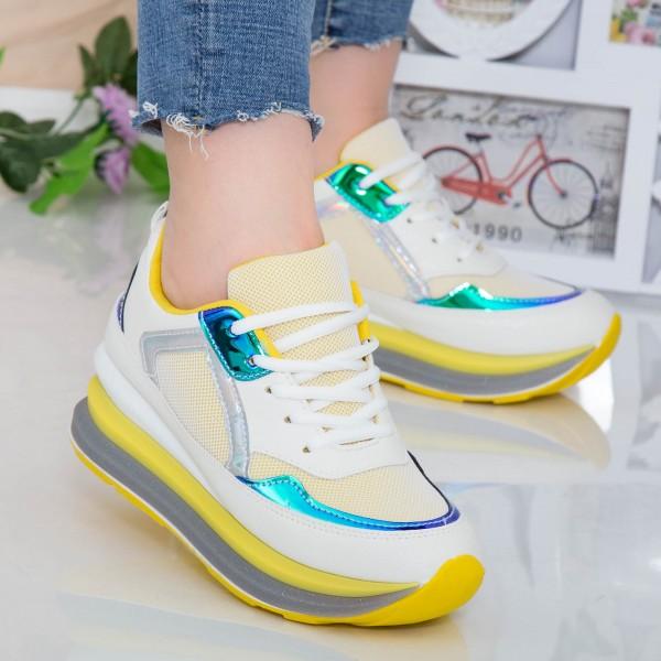 Pantofi Sport Dama DW1 Yellow Mei