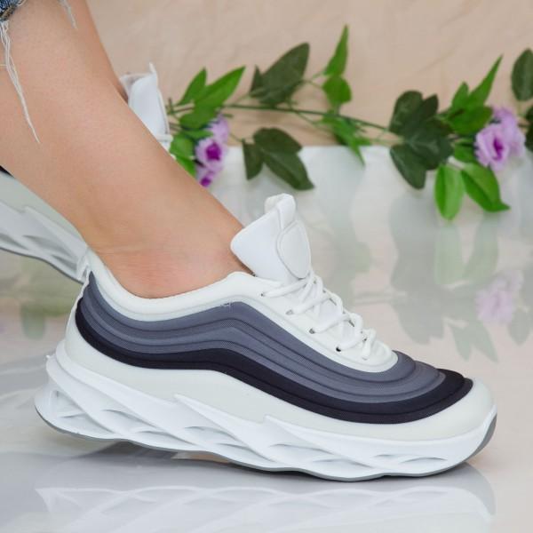 Pantofi Sport Dama cu Platforma LGDL3 Black Mei
