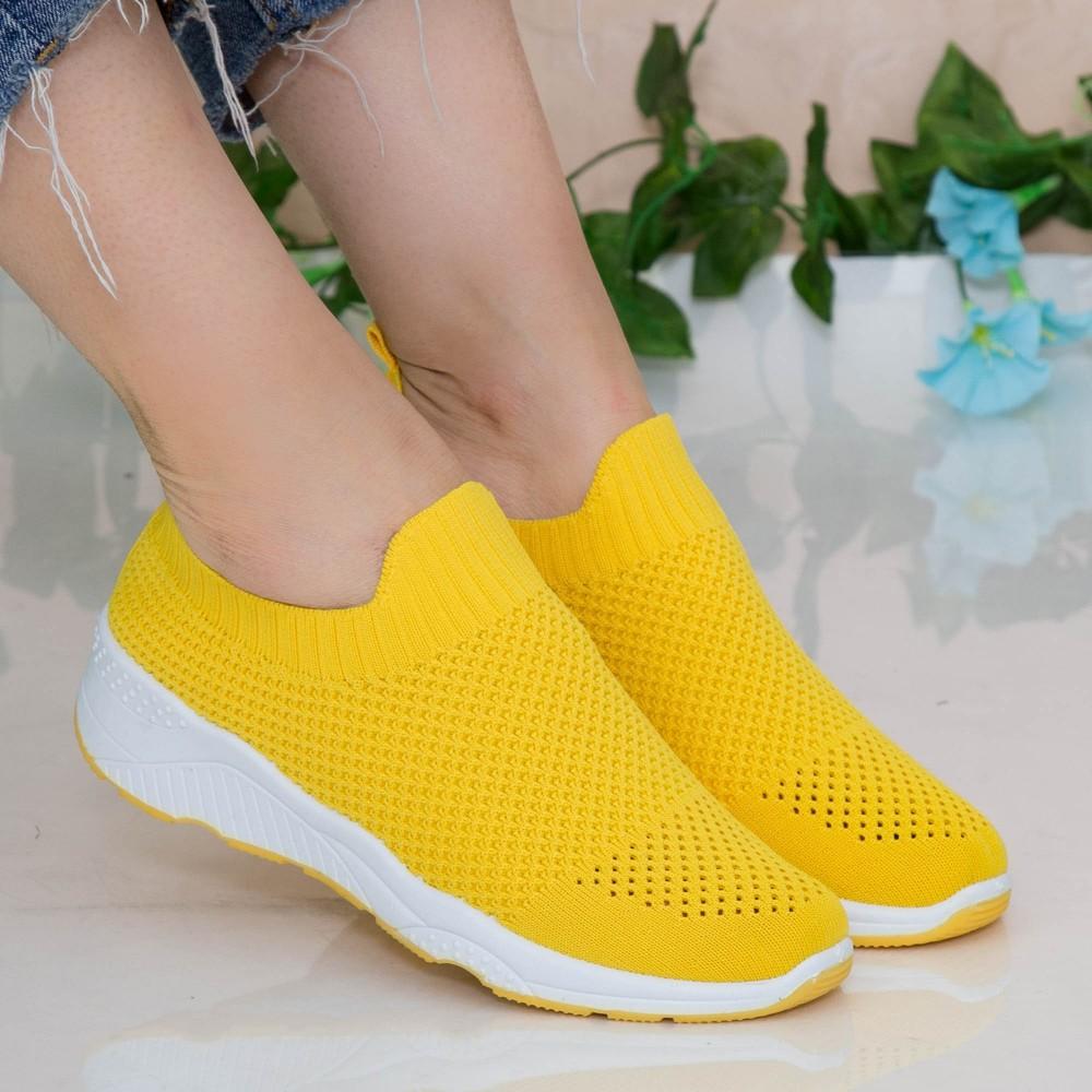 Pantofi Sport Dama TF3 Yellow Mei