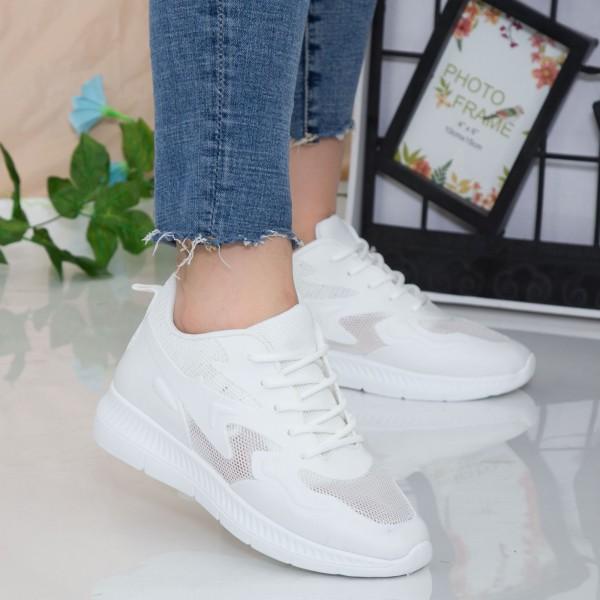 Pantofi Sport Dama WNH1 White Mei