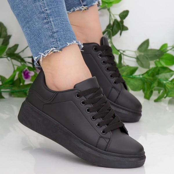 Pantofi Sport Dama YKQ190 All Black Mei